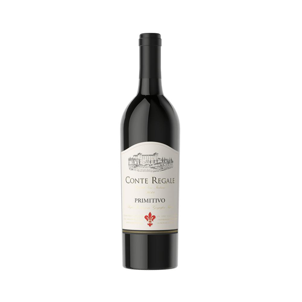 vinho-tinto-conti-regale-primitivo-vivavinho