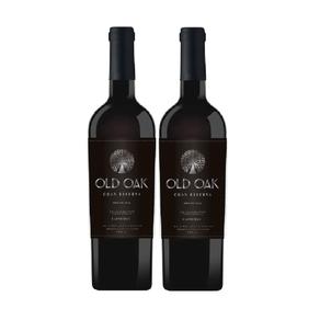 Kit-de-Vinhos-Chilenos-Old-Oak-Gran-Reserva-Carmenere-750ml-nao-safrado