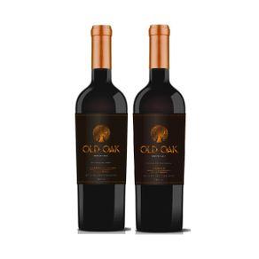 Kit-de-Vinhos-Tintos-Chilenos-Old-Oak-Special-Reserve-Cabernet-e-Carmenere-750ml