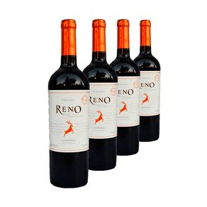 Kit-de-Vinhos-Tintos-Chilenos-Reno-Carmenere-4-garrafas-750ml