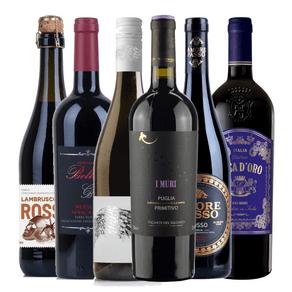Kit-de-Vinhos-Tintos-Degustacao-Italia-6-garrafas-750ml